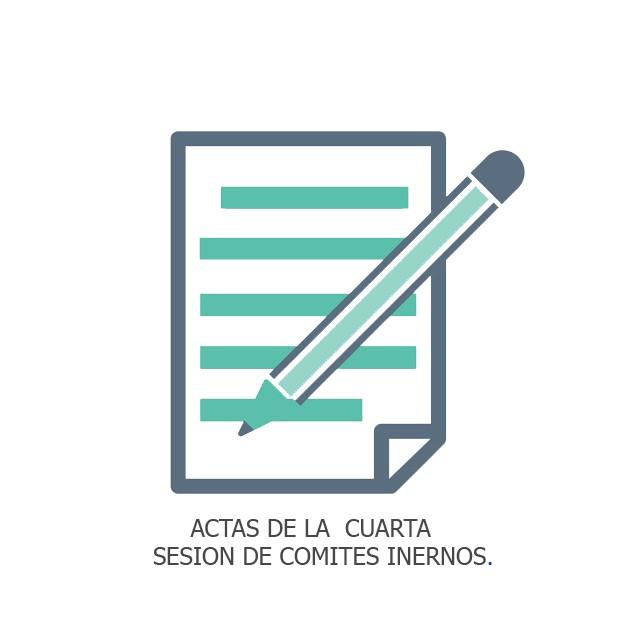 ACTAS DE LA  CUARTA  SESION DE COMI